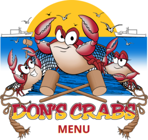 Don's Crabs and Seafood Market Menu