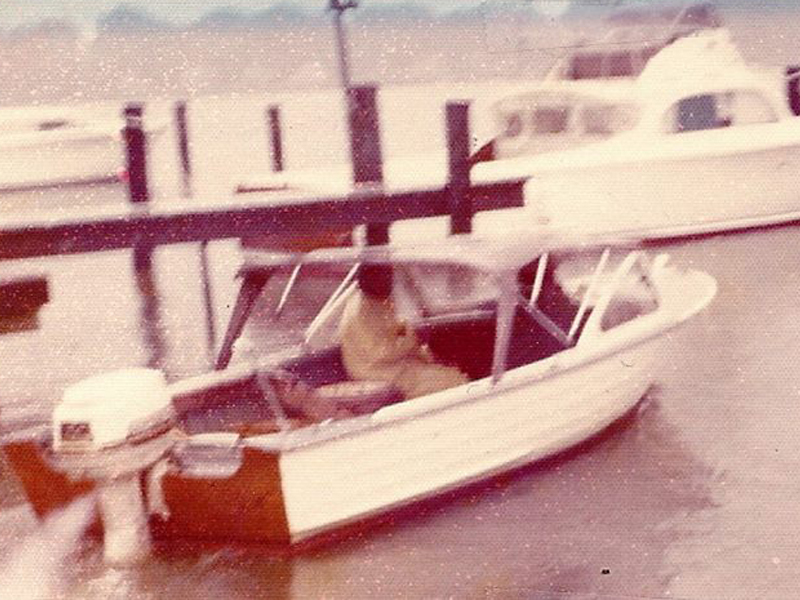 Don's Crabs Boat 1970's
